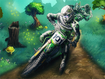 Motocross Forest Challenge 2 online game
