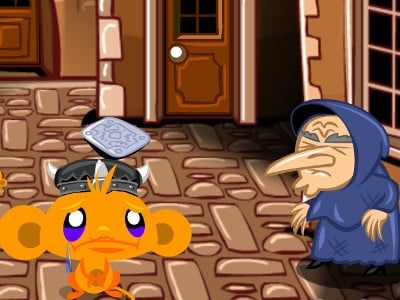 Monkey GO Happy Witchcraft online game