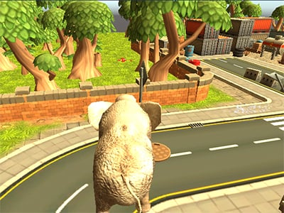 Wild Animal Zoo City Simulator online hra