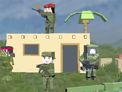 Warzone Mercenaries online game