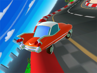 Cartoon Car Crash Derby Destruction World online hra