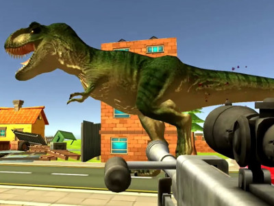 Dinosaur Hunter Dino City online hra