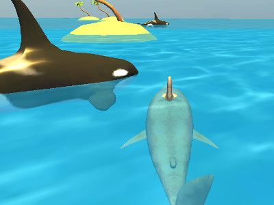 Shark Simulator Beach Killer online game
