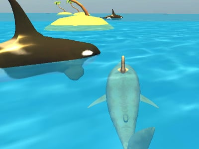 Shark Simulator Beach Killer oнлайн-игра