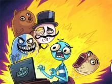Trollface Quest Internet Memes online game