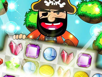 Pirate Kings Match 3 oнлайн-игра