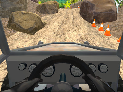 4x4 Truck Car Hill Race 3D online hra