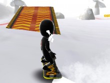 Real Snowboard Endless Runner online hra