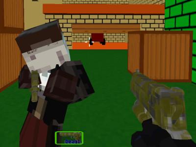Combat Pixel SWAT & Zombies online hra