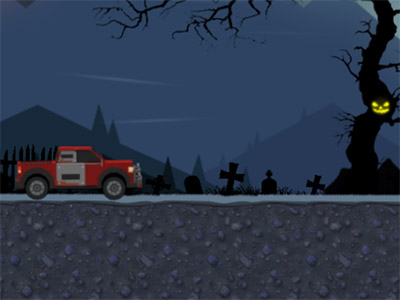 Uphill Halloween Racing oнлайн-игра