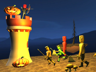 Halloween Archer 3D online hra