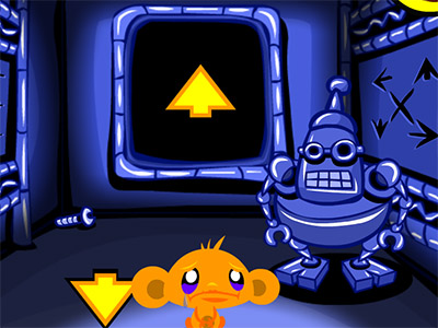 Monkey Go Happy Maze online hra