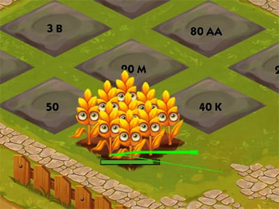 Little Farm Clicker online hra