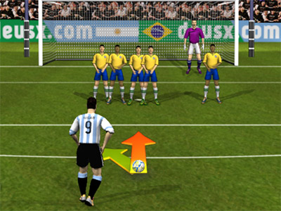 Brasil vs Argentina 2017/2018 online hra