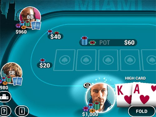 Poker World online game