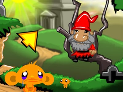 Monkey GO Happy Devils Gold oнлайн-игра