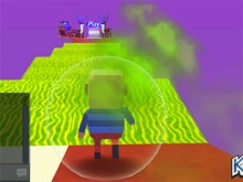 Kogama: Christmas Parkour online game