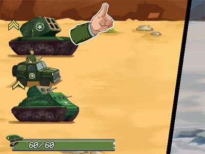 Tank Battle: War Commander online hra