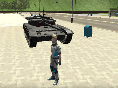 Cars Thief 2: Tank Edition online hra