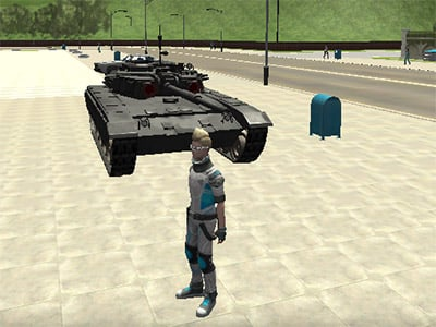 Cars Thief 2: Tank Edition online game