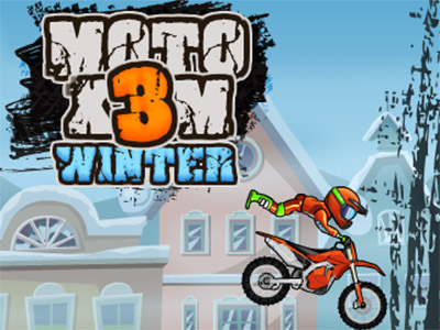 Moto X3M 4 Winter online game