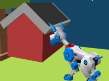 Robot Dog City Simulator online game