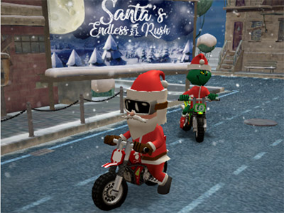Santas Endless Rush online game