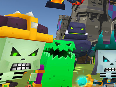 Blocky Fantasy Battle Simulator online hra