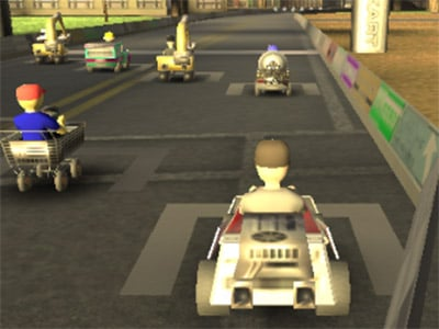 Logan Kart 8 online game