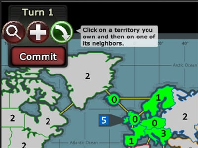 WarZone: Risk online game