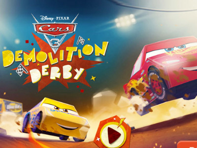 Cars 3 Demolition Derby online hra
