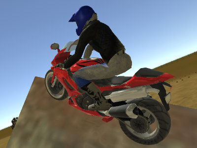 Real Moto Stunts Challenge online hra