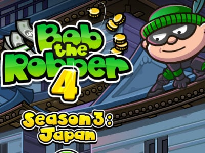 Bob the Robber 4: Japan online hra