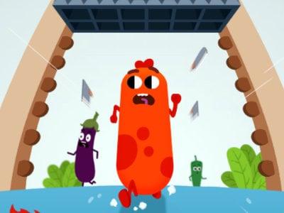 Run Sausage Run online hra