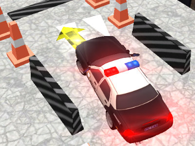 Police Car Parking online hra
