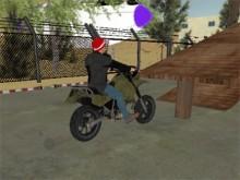Tricky Motorbike Stunt 3D online hra