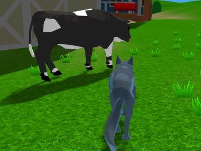 Wolf Simulator online hra
