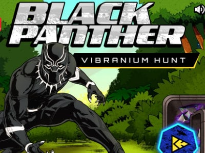 Black Panther Vibranium Hunt oнлайн-игра