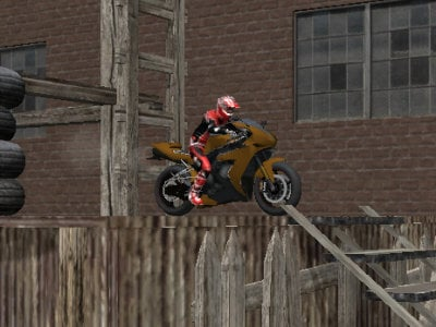 Bike Trials: Wasteland oнлайн-игра