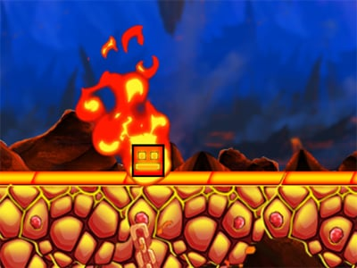 Fire and Water Geometry Dash online game