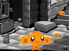 Monkey GO Happy Four Worlds 2 online hra