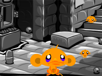 Monkey GO Happy Four Worlds 2 oнлайн-игра