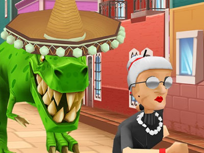 Angry Gran Run Mexico online game