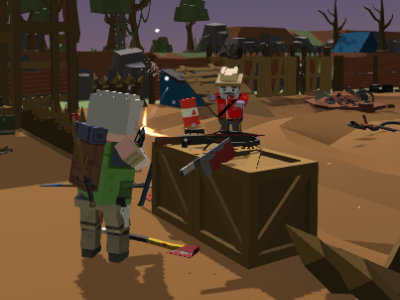 Zombie Siege Outbreak online game