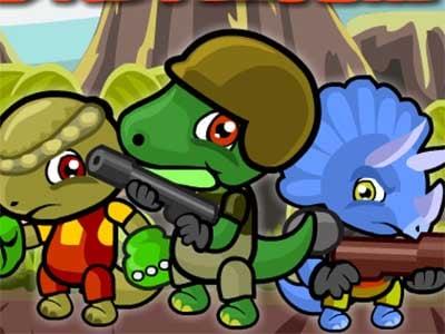 Dino Squad Adventure 2 online hra