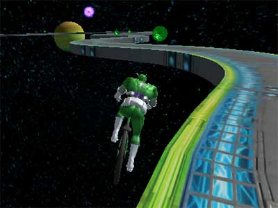 Superhero BMX Space Rider online game
