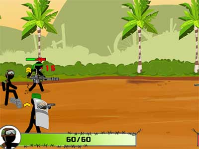 Stickman Army : Team Battle online game