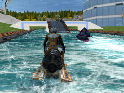 Water Scooter Mania 2 : Riptide online game