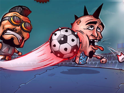 Puppet Football Fighters online hra