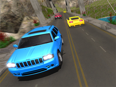 Offroad Prado Mountain Hill Climbing online game